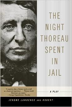 The Night Thoreau Spent in Jail Essay Prompt
