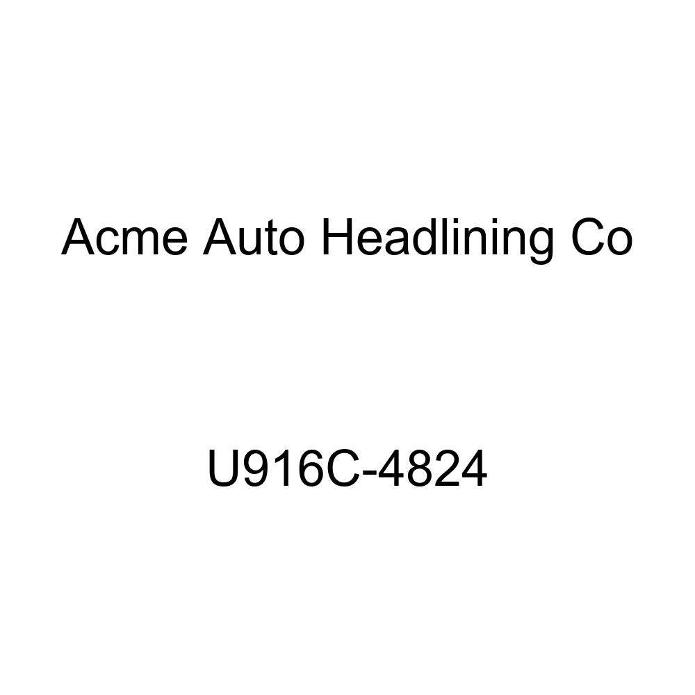 Acme U916C-4824 Front and Rear White Vinyl Bench Seat Upholstery