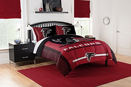 Officially Licensed NFL Atlanta Falcons Safety Full/Queen Comforter and 2 Sham ()