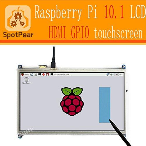 Raspberry pi 10.1 inch resistive touchscreen HDMI Raspber...
