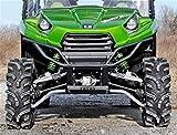 kawasaki teryx tires - Super ATV Kawasaki Teryx 4 High Clearance Forward Offset Front A-Arms (Black)