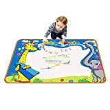 TOYK aquadoodle mat - Kids toy - Water Doodle mat & 3 × Magic Pens - Color Children Water Drawing Mat Board and aquadoodle pen for Kids Doodle learning toy-The best Educational gift