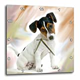 3dRose dpp_4236_3 Jack Russell Terrier-Wall Clock, 15 by 15-Inch For Sale