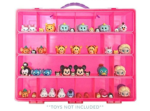 Tsum Tsum Mini Toys Carrying Case - Stores Dozens Of Tsum Ts