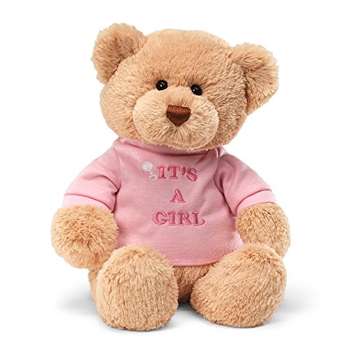 Enesco Its A Girl Bear Plush
