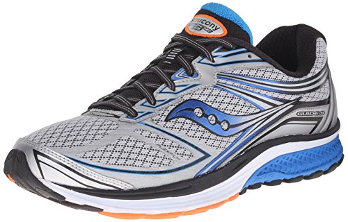 Saucony Guide 9 Men 12 Silver | Blue | Orange