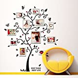 Family Photo Frame Tree Quote Picture Removable Wall Decor Art Stickers Vinyl Decals Home Decor Frames Tree Wall Sticker For Bedroom