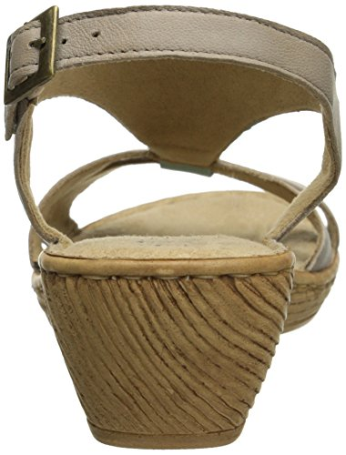 Bella Vita Made in Italy Womens Gubbio Wedge Sandal Sky/Taupe