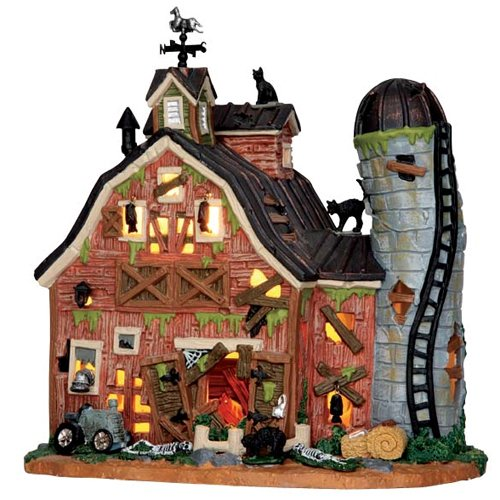 (Lemax Spooky Town Dilapidated Barn #)