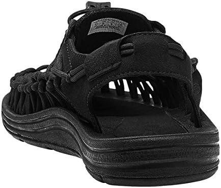 サンダル ユニーク メンズ スポーツサンダル オープンエアスニーカー 1014097 ブラック/ブラック UNEEK Mens BLACK/BLACK スニーカー スポサン シューズ アウトドア [並行輸入品]