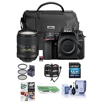 Amazon com : Nikon D7500 DSLR with AF-S DX NIKKOR 18-300mm f