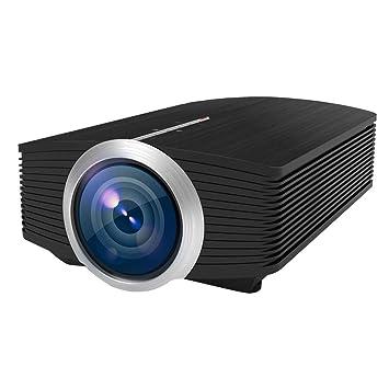 Beautyrain Proyector, 1200 lúmenes Proyector de Video HD Cine en ...