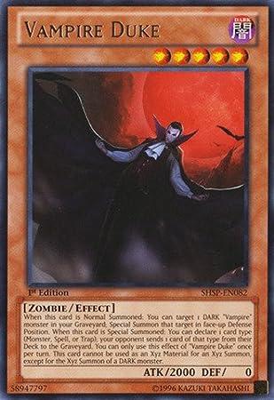 SHSP-EN082 Rare LP Vampire Duke