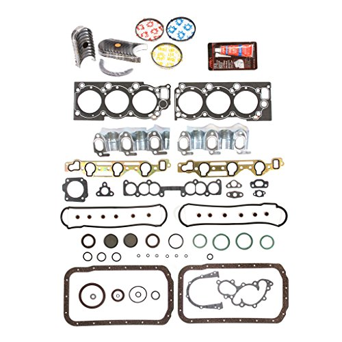 Pickup Set Bearing Main (Evergreen Engine Rering Kit FSBRR2030EVE\0\0\0 88-95 Toyota 4Runner Pickup 3VZE Full Gasket Set, Standard Size Main Rod Bearings, Standard Size Piston Rings)