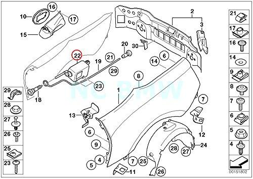 BMW Genuine Filler Flap Actuator (628 Filler)