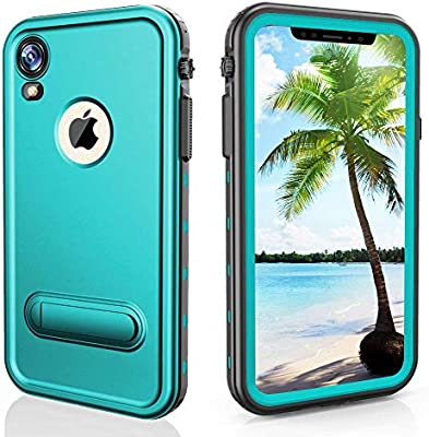 Amazon.com: SpringRay - Carcasa impermeable para iPhone XR ...
