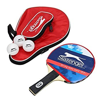 Table Tennis Bat Set with 3 Balls and Bag: Amazon.co.uk: Sports ...