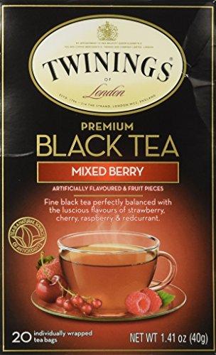 Twinings Premium Mixed Berry Black Tea/ 20 Tea Bags / 40g / 1.41 oz