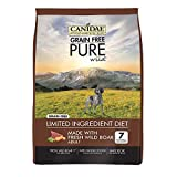 CANIDAE Grain Free Pure Wild Dog Dry Formula with Wild Boar, 4 lbs. For Sale