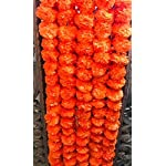 5-pack-Artificial-Dark-Orange-Marigold-flower-garlands-5-ft-long-for-use-in-parties-celebrations-Indian-weddings-Indian-themed-event-decorations-house-warming-photo-prop-Diwali-Ganesh-Fest