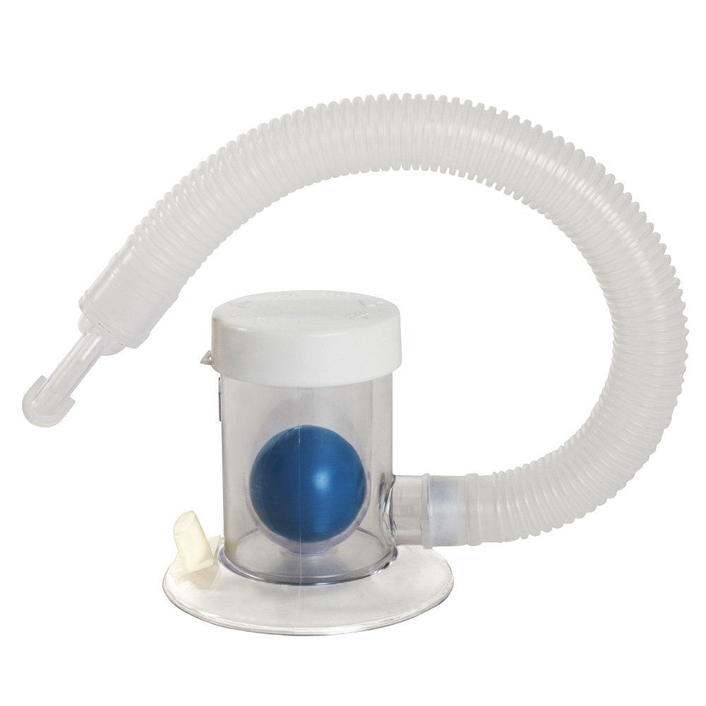 Breath Measurement Device | Compact & Hygienic Lung Exerciser| Manual Graded Setting to Monitor Progress