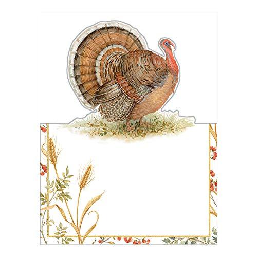 - Caspari Golden Harvest Die-Cut Place Cards, 24 Included