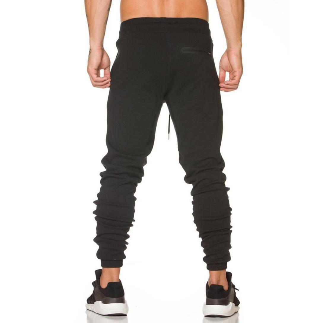 Hombre Pantalón Deportivo Jogger Sonnena ⭐⭐⭐ Estilo Urbano Pantalones Casuales Para Hombre Chándal con Bolsillo 9VE3bNWk