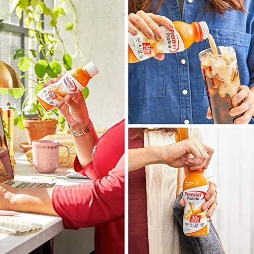 Premier Protein Shake 30g 1g Sugar 24 Vitamins Minerals Nutrients to Support Immune Health 11.5 Pack, Caramel, 132 Fl Oz, (Pack of 12)