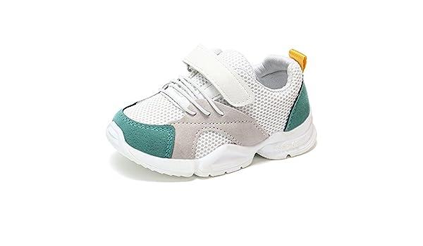 YanHoo Zapatos para niños Zapatillas de Deporte Casuales Malla Zapatillas de Deporte Suaves Zapatillas de Deporte de Malla de Color para niños Zapatillas Zapatillas Casuales: Amazon.es: Ropa y accesorios