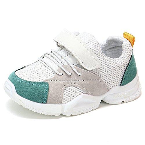 ys Girls Toddler Summer Breathable Mesh Running Sneakers ()
