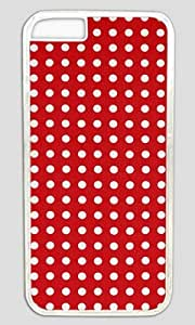 Abstract Art Red DIY Hard Shell Transparent iphone 6 Case Perfect By Custom Service