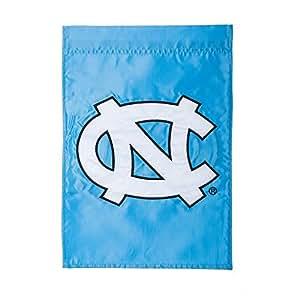 Team Sports America Applique University Of North Carolina Garden Flag, 12.5 X 18 Inches
