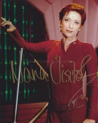 Nana Visitor As Major Kira Nerys Star Trek Deep Space