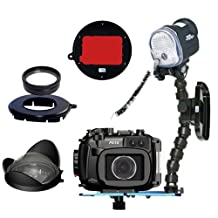 Fantasea Housing For Canon G16 Camera for Underwater w/S&S YS-01 Strobe