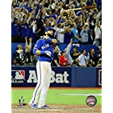 Toronto Blue Jays Jose Bautista three-run Home Run Game 5 of the 2015 American League Division Series 16x20 Stretched Canvas