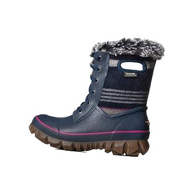Bogs Womens Arcata Sripe Snow Boot: Shoes