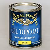 Gf Gel Topcoat Satin Pint- General Finishes,Topcoat Satin,Pint