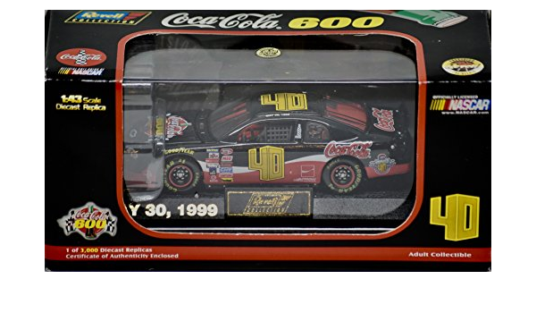 #40 COCA-COLA 600 EVENT CAR 1//64 SCALE NASCAR DATED MAY 30th 1999