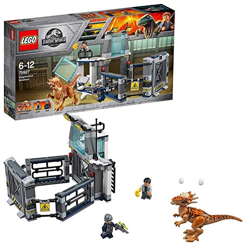 with LEGO Jurassic World design