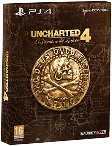 Uncharted 4: El Desenlace Del Ladrón - Edición Especial: Amazon.es: Videojuegos