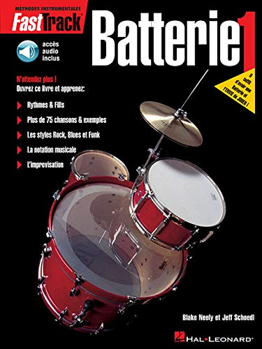 Download FastTrack Drum Method - Book 1 - French Edition Bk/Online Audio pdf epub