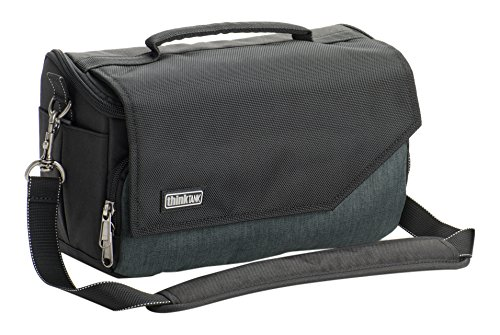 Think Tank Mirrorless Mover 25i Shoulder Bag for Mirrorless Body Camera with 3-4 Lenses and 8'' Tablet, Pewter by Think Tank Photo