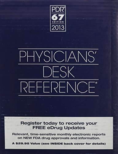 Physicians Desk Reference 2013 (Gift box) PDR Staff