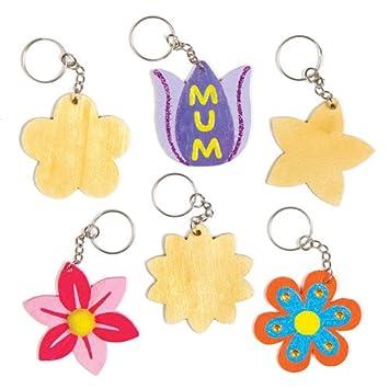 Bastelsets Für Schlüsselanhänger Und Taschenanhänger Blumen Aus