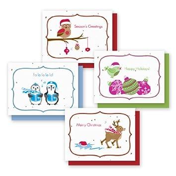 Amazon.com: Tarjetas de chia día festivo Variedad 4-Pack ...