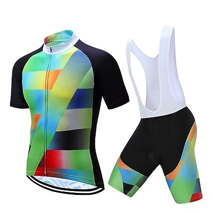 Jersey + Pantalones Cortos Culote Mangas Cortas de Ciclismo ...