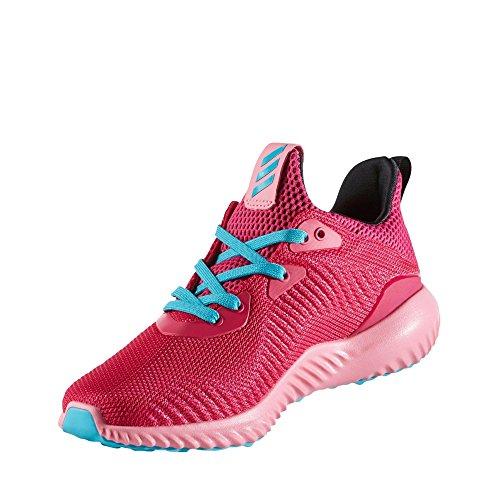 adidas Alphabounce J, Scarpe da Ginnastica Unisex – Bambini, Rosa (Rosfue/Rossen/Azuene), 37 EU