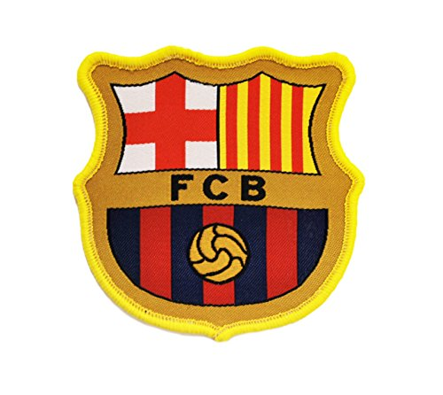 FCB Barcelona Club Soccer Crest Shield Patch (Yellow/red/blue)