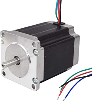 Nema 23 Stepper Motor TB6600 Driver 4-wires 8mm Shaft for DIY CNC Router Mill