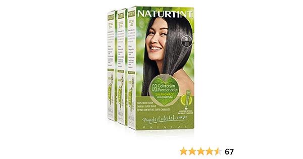 Naturtint Coloración Permanente Sin Amoniaco | 100% Cobertura ...
